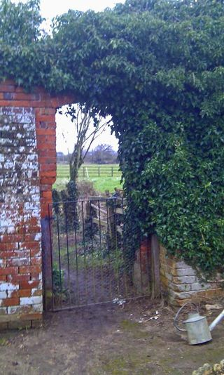 Walled Garden Gate